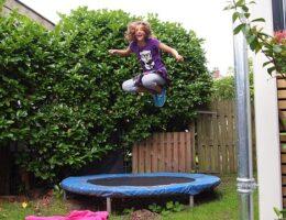 trampolin mini