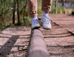 Gleichgewichtssinn Training