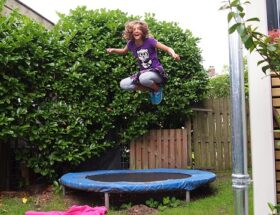 trampolin Kinder ab wann